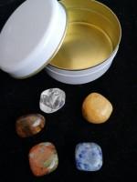 Зодиакални камъни Дева - Комплект 5 броя