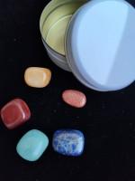 Камъни за зодия Лъв - комплект с камъни за Пари здраве любов късмет и защита в подаръчна кутия