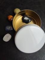 Камъни за зодия Везни - комплект с камъни за Пари здраве любов късмет и защита в подаръчна кутия