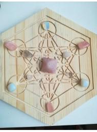Олтар за магия - кристална решетка за ритуали